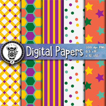 Digital Paper Pack 13-5