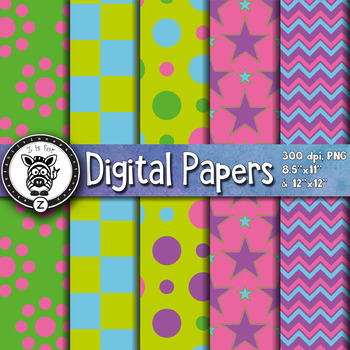 Digital Paper Pack 14-1