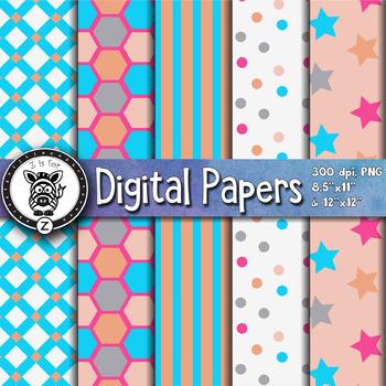 Digital Paper Pack 17-5
