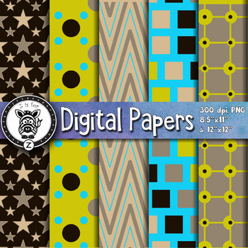 Digital Paper Pack 18-2