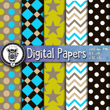 Digital Paper Pack 18-4