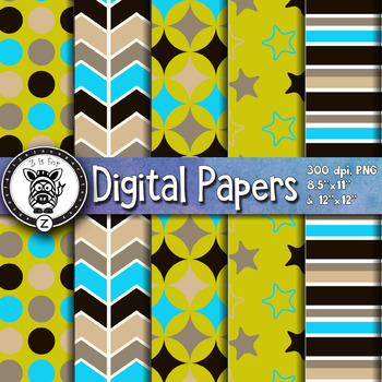 Digital Paper Pack 18-7