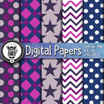 Digital Paper Pack 19-4