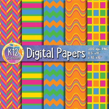 Digital Paper Pack 2-6