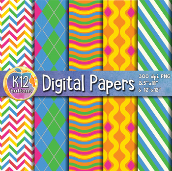 Digital Paper Pack 2-9