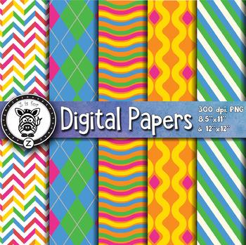 Digital Paper Pack 2-9