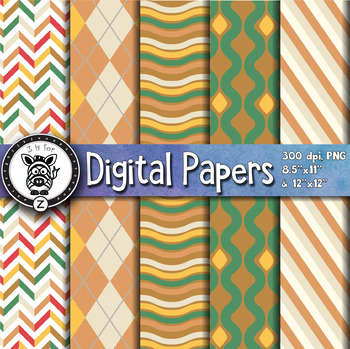 Digital Paper Pack 21-9