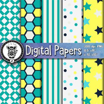 Digital Paper Pack 23-5