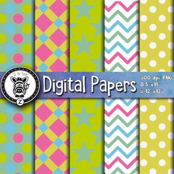 Digital Paper Pack 24-4