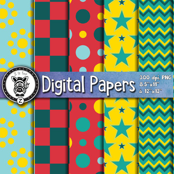 Digital Paper Pack 3-1