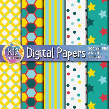 Digital Paper Pack 3-5