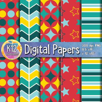 Digital Paper Pack 3-7