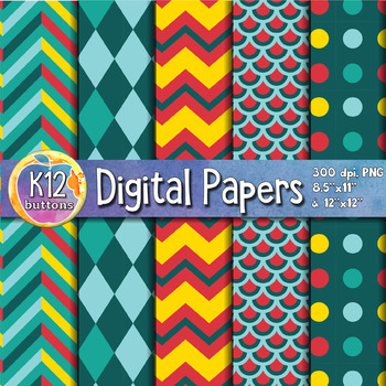 Digital Paper Pack 3-8