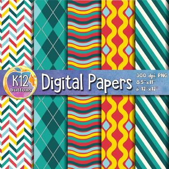 Digital Paper Pack 3-9