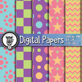 Digital Paper Pack 4-1