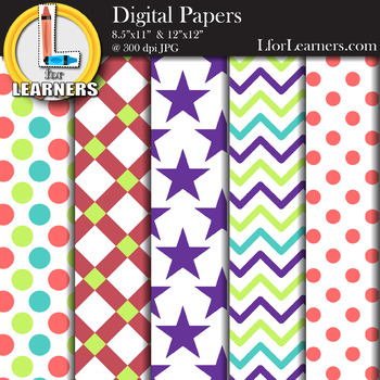 Digital Paper Pack 4