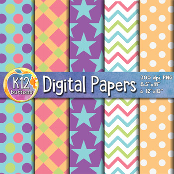 Digital Paper Pack 4-4