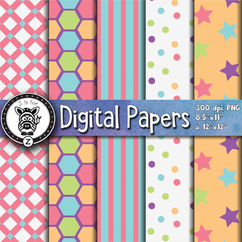 Digital Paper Pack 4-5