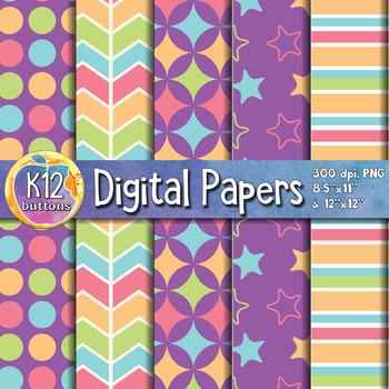 Digital Paper Pack 4-7