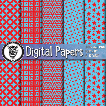 Digital Paper Pack 40-1