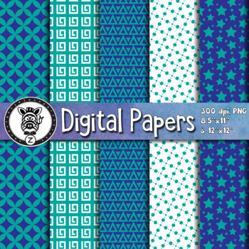 Digital Paper Pack 46-1