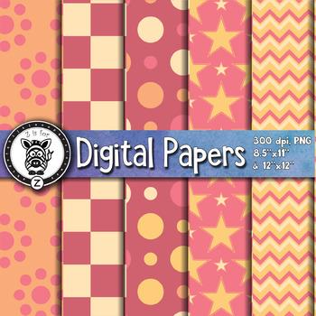 Digital Paper Pack 5-1