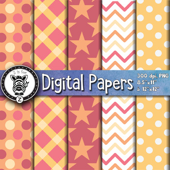 Digital Paper Pack 5-4