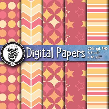 Digital Paper Pack 5-7