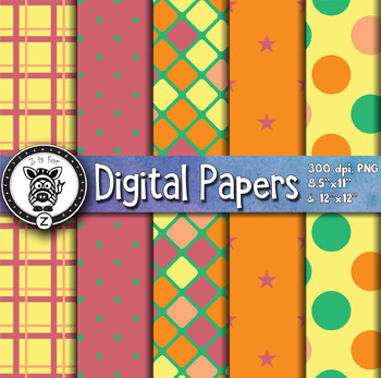 Digital Paper Pack 6-3