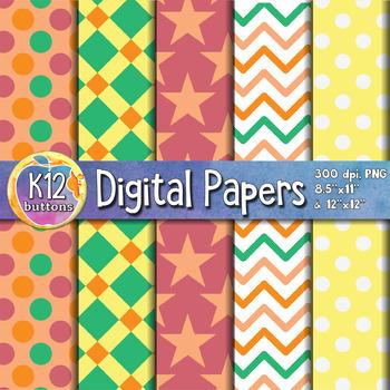 Digital Paper Pack 6-4