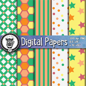 Digital Paper Pack 6-5