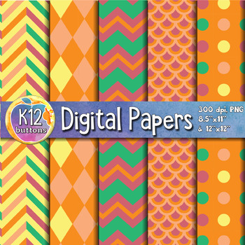 Digital Paper Pack 6-8