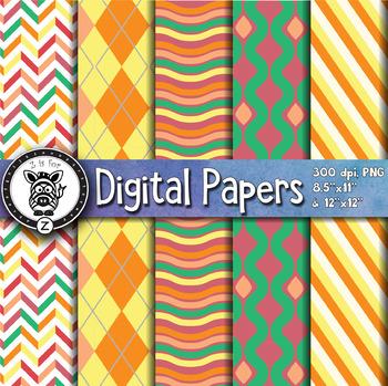 Digital Paper Pack 6-9
