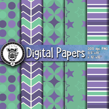 Digital Paper Pack 7-7