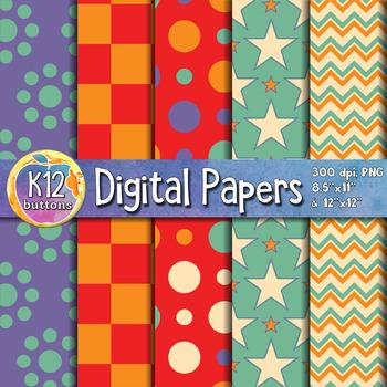Digital Paper Pack 8-1