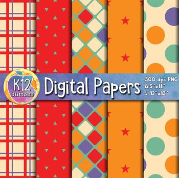 Digital Paper Pack 8-3