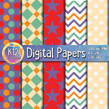Digital Paper Pack 8-4