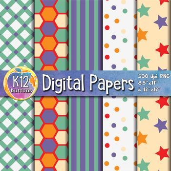 Digital Paper Pack 8-5