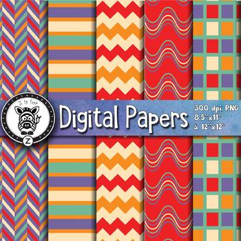 Digital Paper Pack 8-6