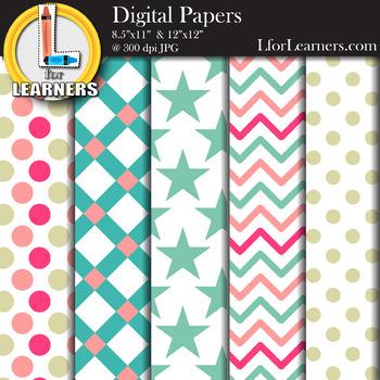 Digital Paper Pack 9