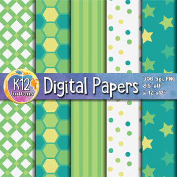 Digital Paper Pack 9-5