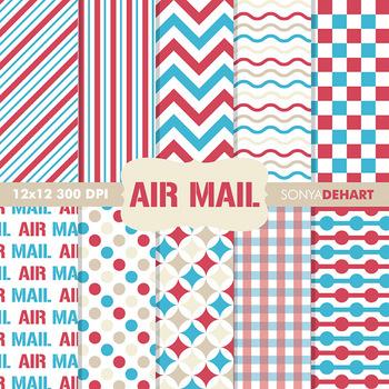Digital Papers - Air Mail