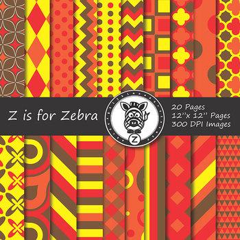 Digital Paper Pack Autumn 1 - CU ok { ZisforZebra}