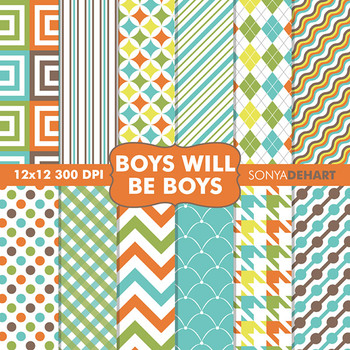 Digital Papers - Boys Will Be Boys