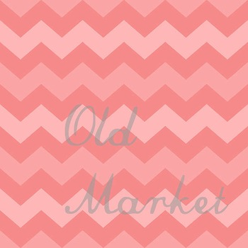 Digital Paper Pack - Chevron Ombre - 24 Different Papers - 12 x 12