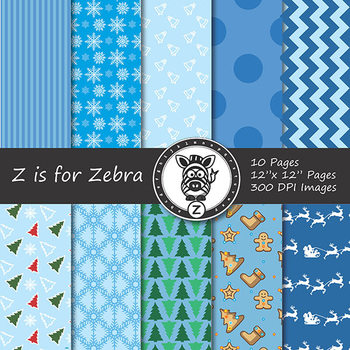 Digital Paper Pack Christmas 2 - CU ok { ZisforZebra}