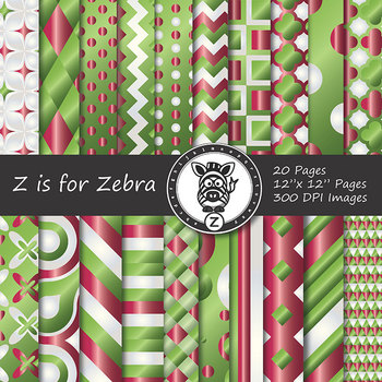 Digital Paper Pack Christmas gradient 4 - CU ok { ZisforZebra}