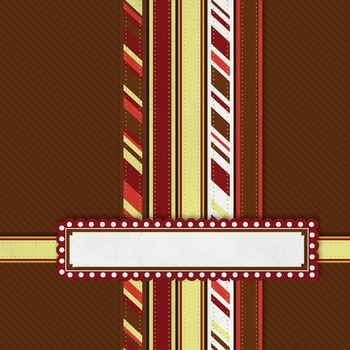 """Digital Paper Pack """"E"""" with Ribbons & Frames"""