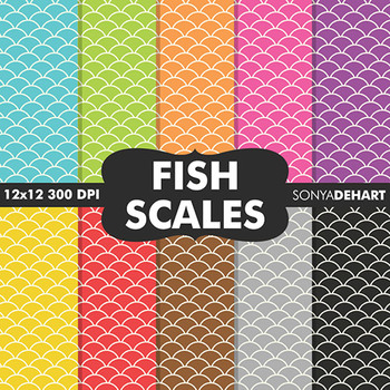 Digital Papers - Fish Scales