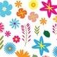 Digital Paper Pack - Floral 3 - ZisforZebra